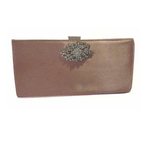Adrianna Papell Jewel Evening Pink Clutch Bag:$70.